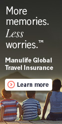 Manulife Premium Travel Protection Plan, Family Vacations